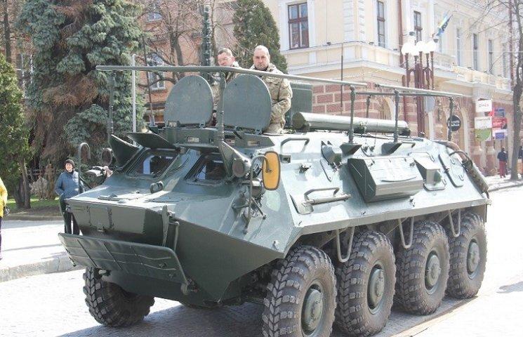 У Тернополі відзначили другу річницю створення Національної гвардії України