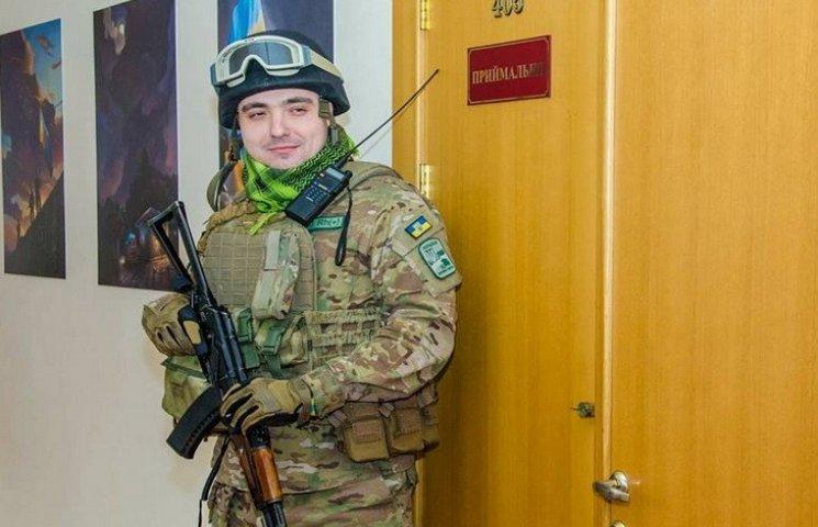 Ветеран АТО бігав будівлею Дніпропетровської ОДА з автоматом