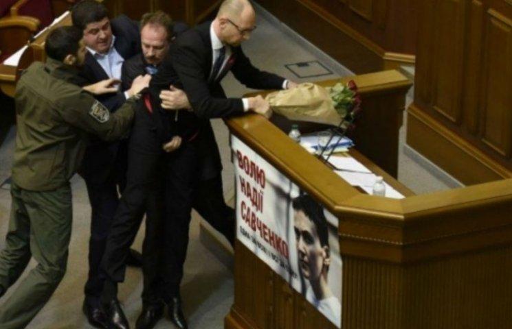 Яценюку захотелось акта с нардепами