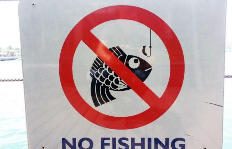 З 1 квітня українцям заборонили ловити рибу