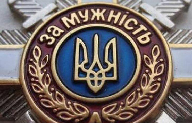 Вінничанин отримав орден від Президента за український прапор над Слов