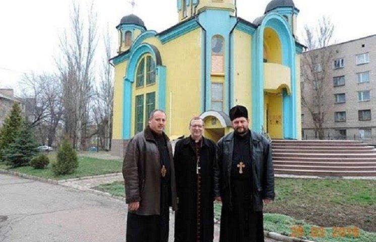 Запорізький єпископ зустрів Великдень в окупованому Донецьку