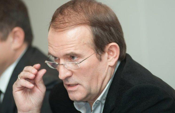 Медведчук і Ахметов внесли План Путіна в Раду