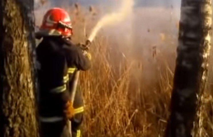 На Тернопільщині збільшується кількість пожеж