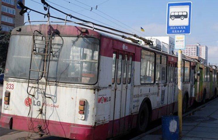 У Херсоні страйкують водії тролейбусів