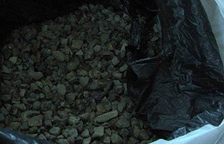 СБУшники вилучили понад 200 кг бурштину на Житомирщині та в Києві