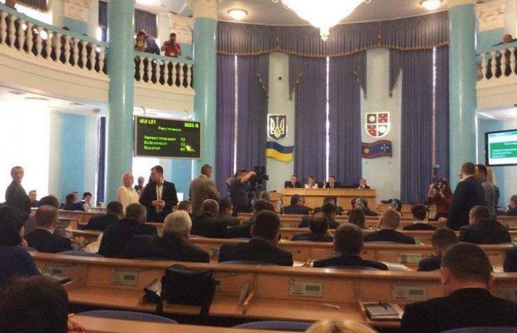 """Облрада мало не провалила голосування по """"дружбі"""" Вінниччини з російськими регіонами"""