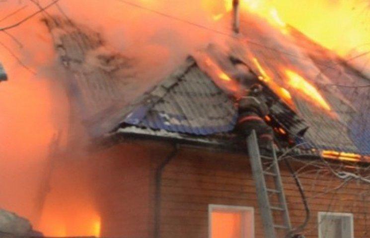 В пожежі на Вінниччині загинув чоловік