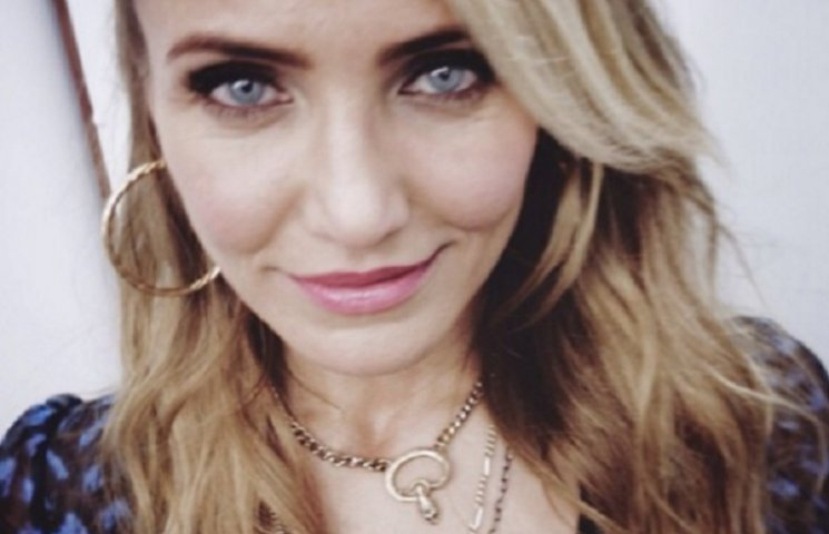 43-летняя Кэмерон Диас показала лицо без косметики