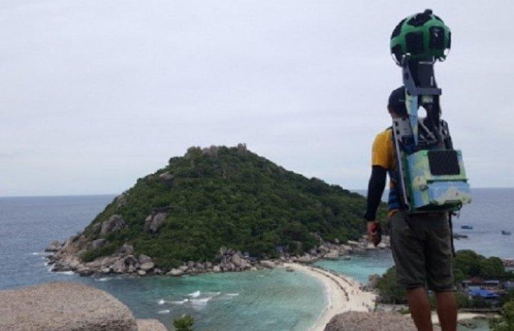 Як хлопець із рюкзаком Google пройшов пішки 500 км, щоб показати усьому світу Таїланд