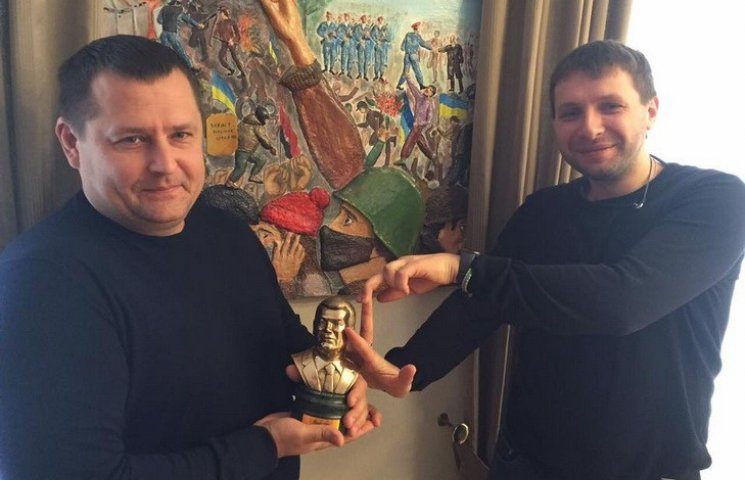 """Парасюк у кабінеті Філатова """"дав ляща"""" Януковичу"""