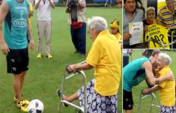 """""""Барселона"""" підписала контракт зі 102-річною бабцею"""