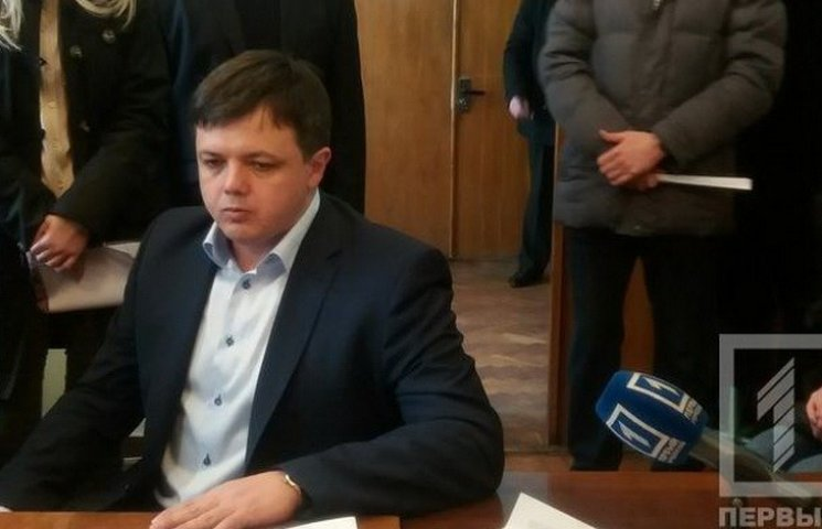 Семенченко зареєструвався кандидатом у мери Кривого Рогу