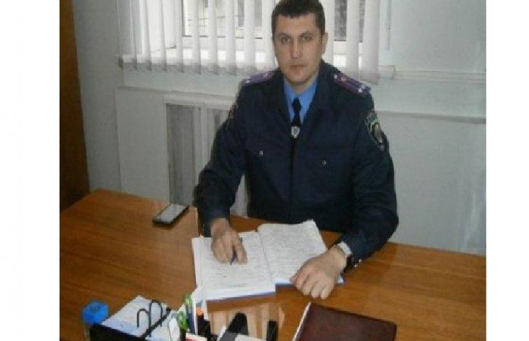 У Славуті новий начальник поліції