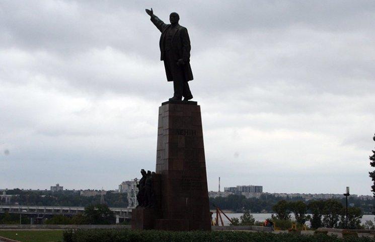 Стало відомо, коли знесуть запорізького Леніна