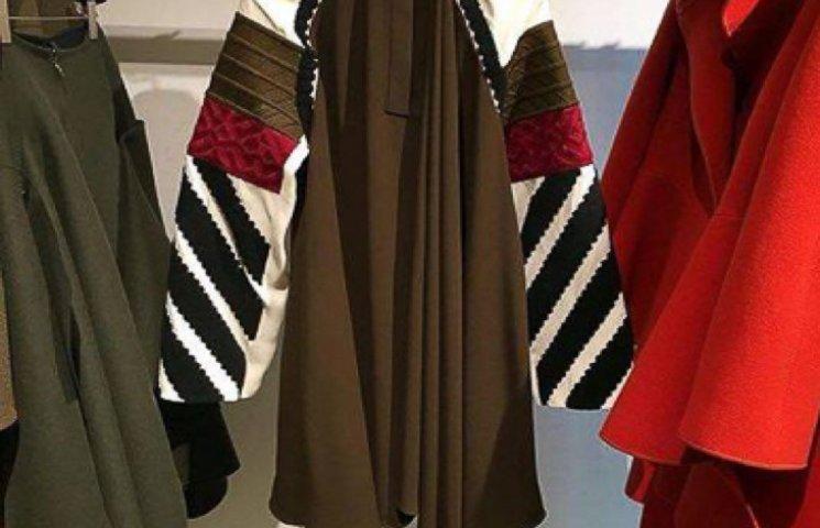 На Міланському тижні моди одна з колекцій нагадала подільську вишивку