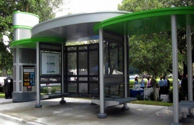Хмельничани назбирали підписів для оновлення зупинок громадського транспорту