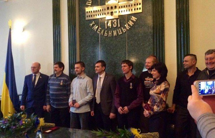 Учасникам Революції гідності вручили Ордени у Хмельницькому