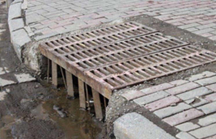 На трьох вінницький вулицях побудують зливову каналізацію