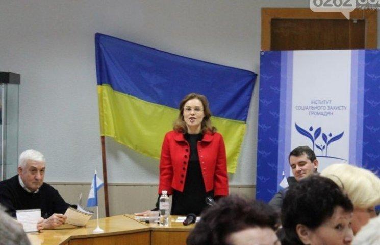 Как активисты скандалили с Королевской в Славянске