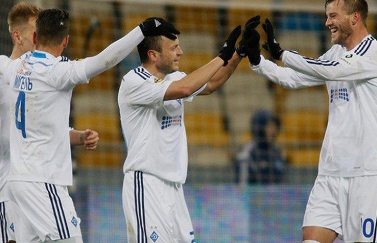 """""""Динамо"""" легко перемогло """"Дніпро"""""""