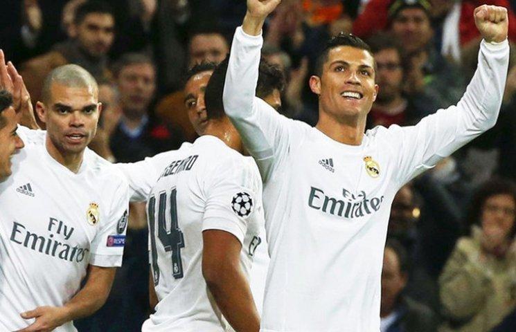 """""""Реал"""" впевнено крокує до чвертьфіналу ЛЧ"""
