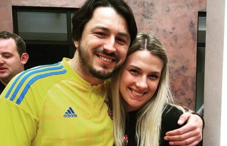 Ольга Харлан похизувалась фото з Сергієм Притулою