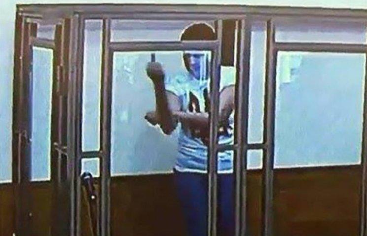 Фото дня: Що показує Савченко Путіну? Придумай підпис