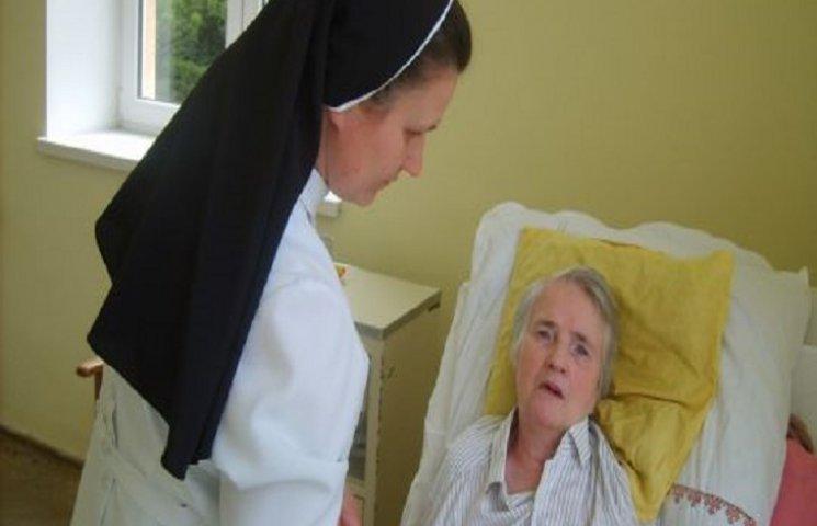 За хворими у Волочиському районі доглядатимуть православні сестри
