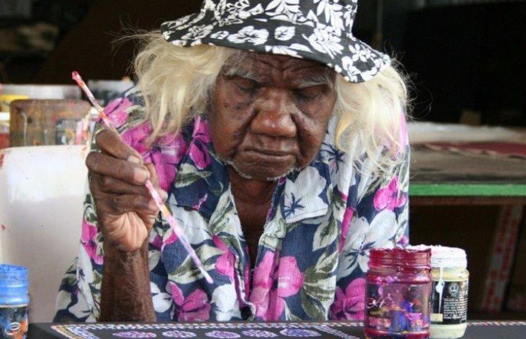 105-летняя бабушка стала звездой интернета благодаря своим картинам