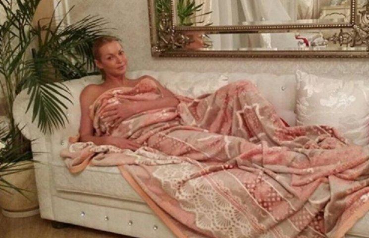 Волочкова показала себе у ліжку