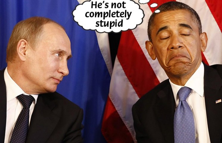 Не зовсім дурний: Як би переклали Обаму Ляшко, Лавров та Керрі (ФОТОЖАБИ)