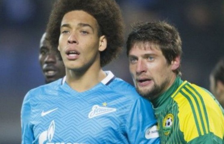 Селезньов забиває дебютний гол на Росії