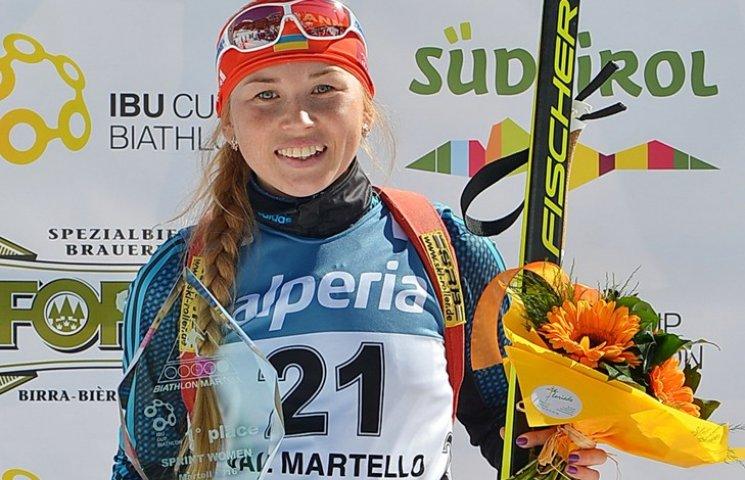 Українка виграла спринт у престижній біатлонній гонці