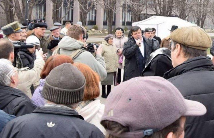 "Семенченко пообіцяв привезти до Кривого Рогу ""шефа"" Садового"