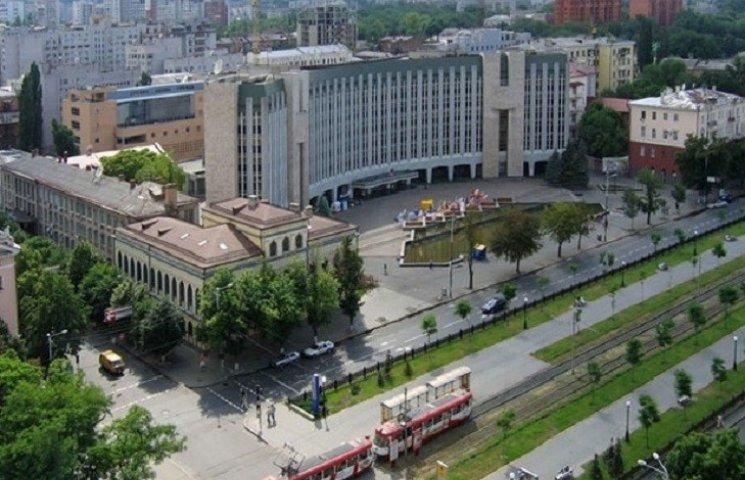 Вхід на сесію Дніпропетровської міськрад…