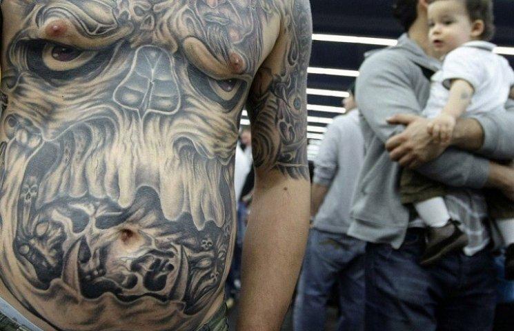 Татуювання позитивно впливає на імунітет людей