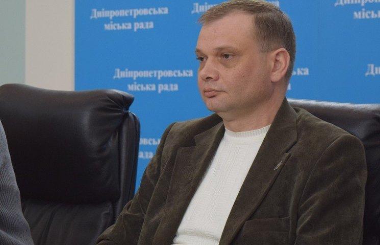 У Дніпропетровській міськраді перед сесією Філатов змінив головного охоронця