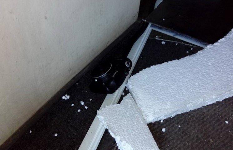 Філатовському комунальнику розтрощили офіс