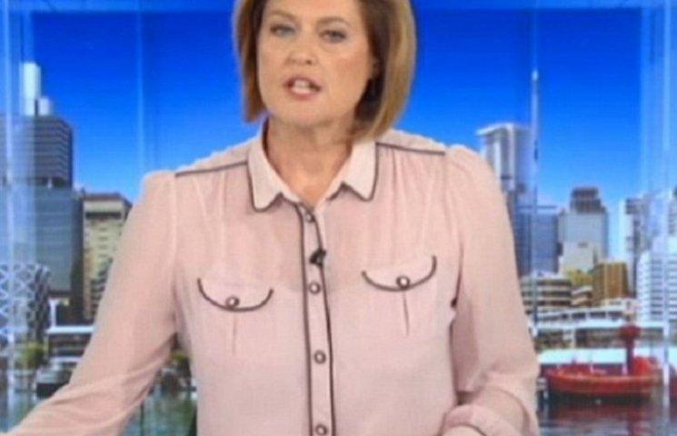 Ведучу новин британського каналу звинуватили у носінні еротичної блузи