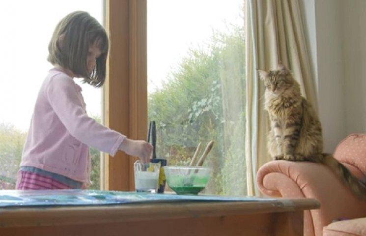 Как кошка вылечила 6-летнюю девочку, которая больна аутизмом