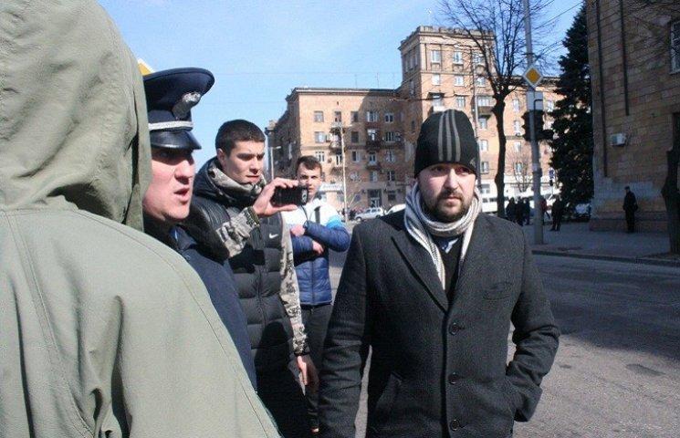 """Біля запорізького Леніна """"пов'язали"""" відомого сепаратиста"""