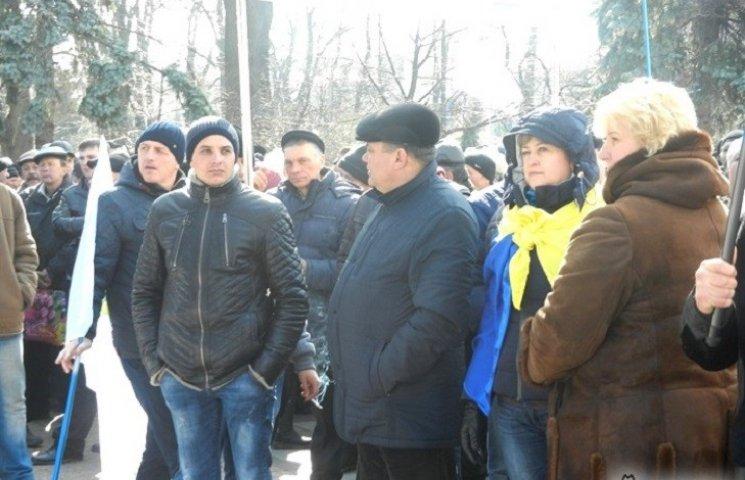 Аграрії Тернопільщини пікетують Кабмін