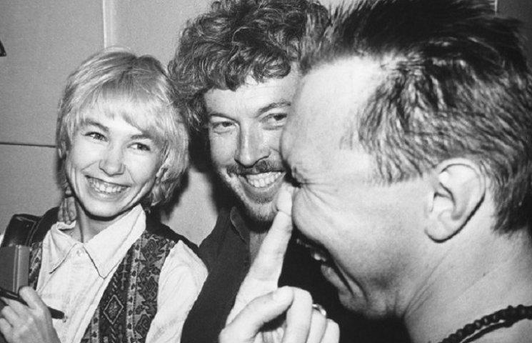 Американська співачка виклала в мережу архівні фото Цоя і Гребенщикова