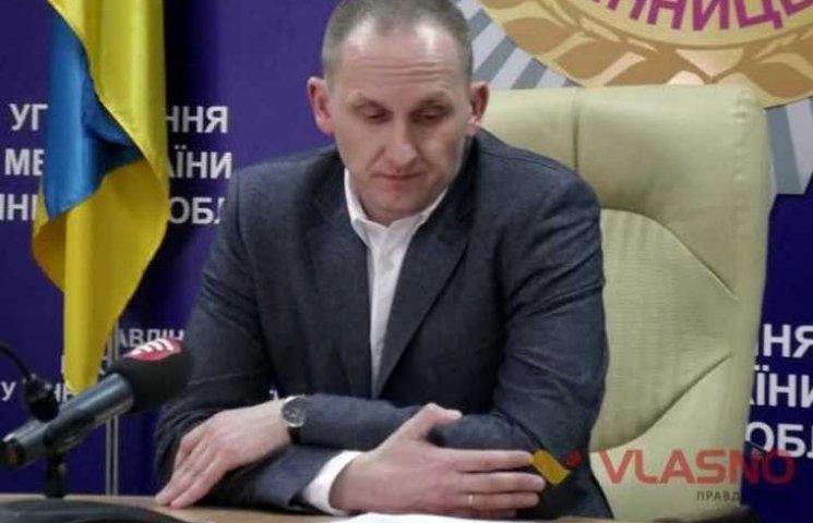 Скандального экс-шефа винницкой полиции привезли на допрос в Винницу