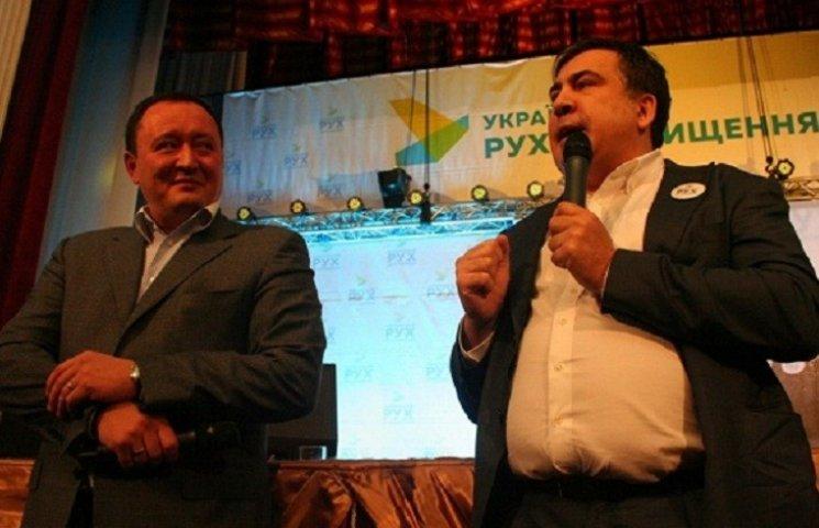 На свій форум в Запоріжжі Саакашвілі запізнився разом із запорізьким губернатором