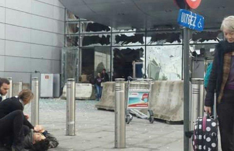 Теракти у Брюсселі (ХРОНІКА) (ФОТО, ВІДЕ…