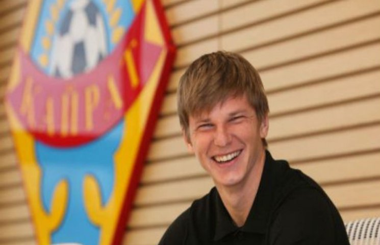 Російський футболіст заявив, що планує зміцнювати російсько-українські відносини