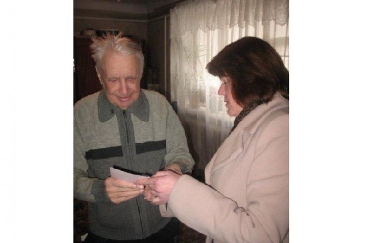 На Летичівщині привітали ветеранів Другої світової війни
