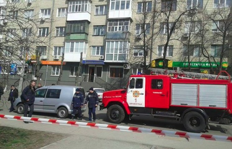 У центрі Кіровограда стався вибух, постраждала людина